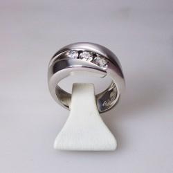 GAREL Trilogy - 0,53ct de diamant - or blanc