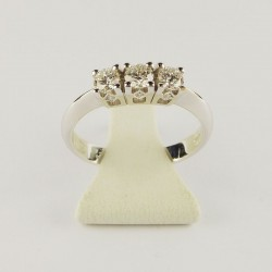 Bague 0,48ct de diamant - or blanc