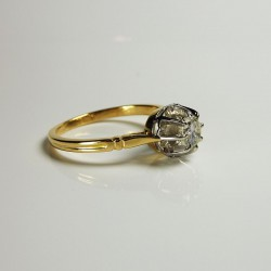 Solitaire - Diamant 0,45ct - Occasion