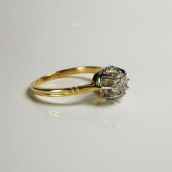 Solitaire - Diamant 0,45ct - Occasion