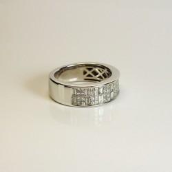 Bague de créateur - Diamants 1ct - Occasion