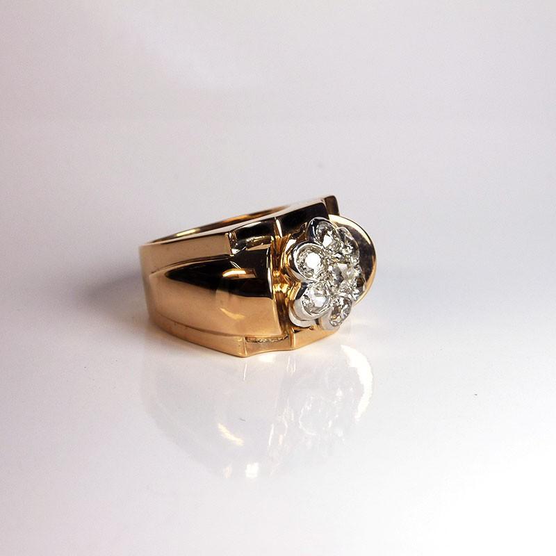 bague ancienne diamants 1 25ct occasion bijouterie akarat. Black Bedroom Furniture Sets. Home Design Ideas