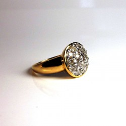 Bague Diamants 1ct - Occasion