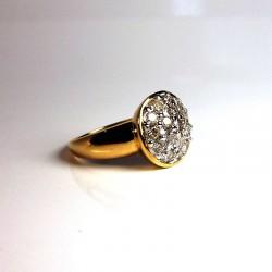 Bague Diamants 1ct - Occasion