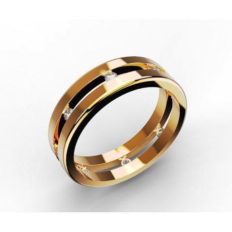 Marinette - Or 750 - Diamants