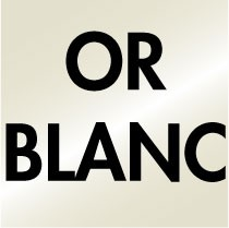 Or blanc 18ct 750/000