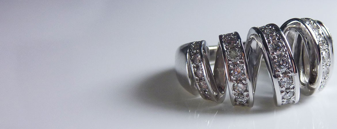 Bague moderne 1 ct de diamant